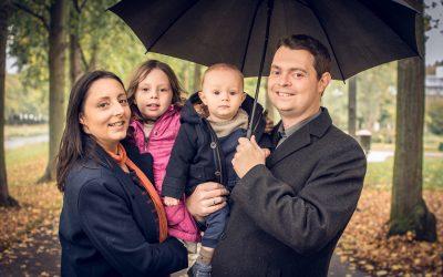 Familienfotos in Bad Neuenahr – Regen von oben, Stimmung trotzdem gut!